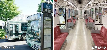 地下鉄・バスのアクセス至便